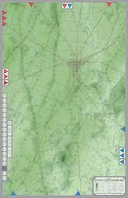 Gettysburg Map Cover Art The Guns Of Gettysburg Boardgamegeek