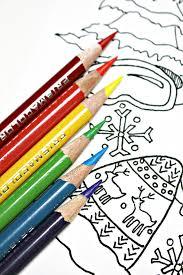 free winter coloring artzycreations