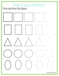 colour match shapes worksheet trace and color state worksheets