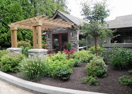 pergola with trellis traditional landscape and yard with trellis by sublime garden