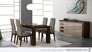 modern dining room sets 15 sophisticated modern dining room sets home design lover
