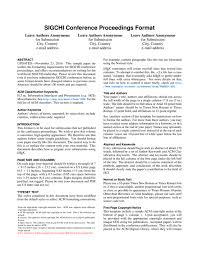 chi proceedings template latex template sharelatex online