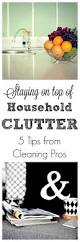 staying on top of household clutter 5 tips from pros