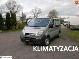 opel vivaro 2005 opel vivaro 1 9 diesel 101 km 2005r mikołów archiwum