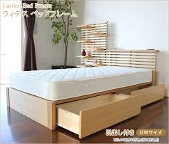 wooden base bed i office1 rakuten global market wooden bed wide pull out