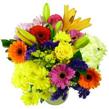 sunday flower delivery rainbow bouquet free uk delivery for and mothers day post