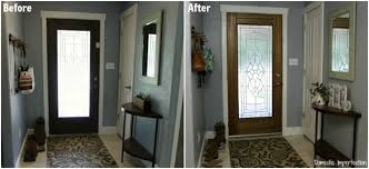 Inside Entryway Ideas A Painted Front Door Domestic Imperfection