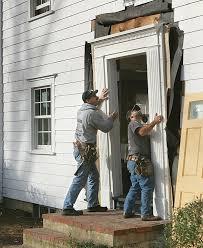 How To Replace Exterior Door Replace An Entry Door Homebuilding