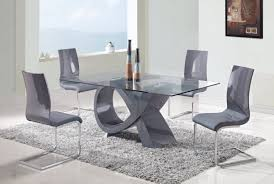 glass dining room table set glass dining room tables