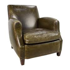 accent chairs for brown leather sofa 83 off crate barrel crate barrel metropole brown leather