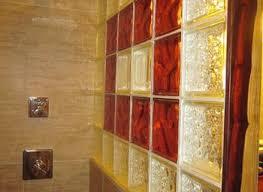 Glass Block Bathroom Designs Glass Block Bathroom Wall Grousedays Org