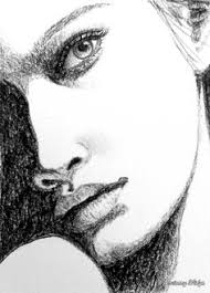 woman face sketch by hendy thong via behance woman face study
