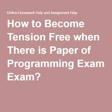 how to become a wedding planner for free how to become tension free when there is paper of programming