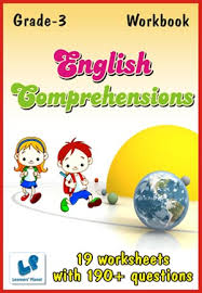 grade 3 english comprehensions workbook this workbook contains