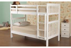 Sweet Dreams Hero White Wooden Bunk Bed Bedsless - Dreams bunk beds