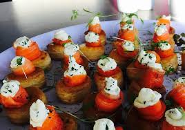 cuisine canapé canape platter picture of the option bistro and wines