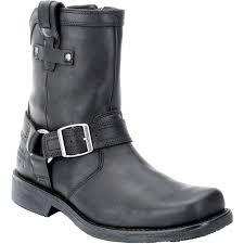 harley davidson riding boots harley davidson men u0027s corey black leather harness motorcycle boot