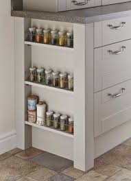 Cream Spice Rack Bespoke Spice Rack Kitchen Pinterest