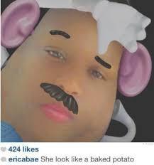 Potato Girl Meme - she look like a baked potato fixed imgur