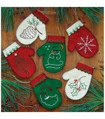 mittens ornament kit set of six joann