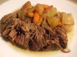 thanksgiving roast beef recipe sirloin tip roast in the slow cooker mamal diane yummy