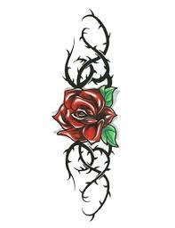 25 beautiful thorn tattoo ideas on pinterest crown of thorns