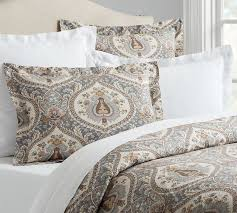 Next King Size Duvet Covers Darcy Printed Duvet Cover U0026 Sham Pottery Barn