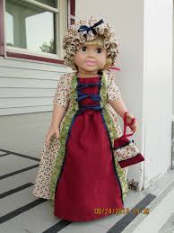 historical pattern review mccall s 3627 historical dress for 18 doll