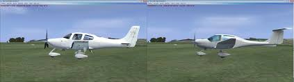 carenado cirrus vs alabeo da40 fsx screenshots