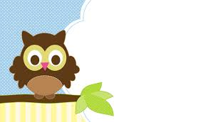 free owl themed baby shower templates for boy home party theme ideas
