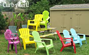 Stackable Plastic Patio Chairs by Curb Alert Quick 15 Minute Update Outdoor Patio Chairs