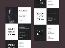 reference resume minimalistic logo animations well designed resume exles for your inspiration