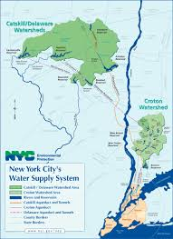 map of nyc areas new york city water supply map infrastructure