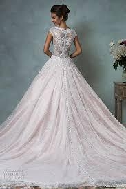 pink embroidered wedding dress amelia sposa 2016 wedding dresses volume 2 wedding inspirasi
