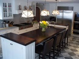 two level kitchen island home design ideas and pictures