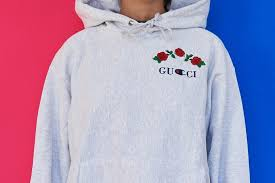 ava nirui releases a gucci x champion bootleg hoodie hypebeast