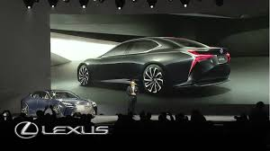 lexus brand launch lexus lc 500 launch u2013 detroit motor show 2016 youtube