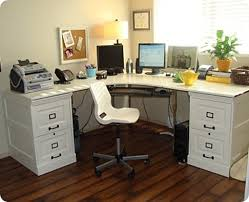 Corner Desk Pottery Barn Large Corner Desk With File Cabinets