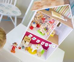 How To Make Dollhouse Furniture From Recycled Materials Diy Dollhouse Plans How To Build A Dollhouse With Fiskars