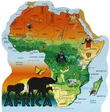 africa map africa map the cat s meow