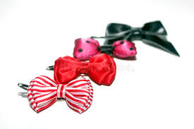 cool hair bows hair bows in a row stock image image of cool hair 21527377