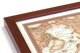 map usa framed world usa executive maps framed pair 37x25in national