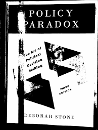01vs3 policy paradox the art of political decision making 3rd