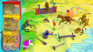 minnie whinnies 3 breyer horses mini whinnies playset review trails