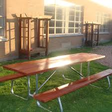 Commercial Picnic Tables by Unique Picnic Tables For Schools Commercial Picnic Tables For