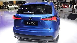 2018 lexus nx price photo video specs review suv carslana com
