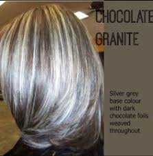 hair highlights and lowlights for older women i love this for grey hair all things hair pinterest gray
