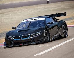 bmw i8 car rendering bmw i8 racing car