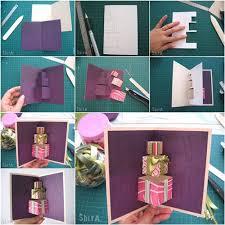 how to make handmade pop up birthday cards pop up birthday card diy how to diy 3d gift box pop up card free