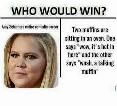 who would win amy schumer know your meme